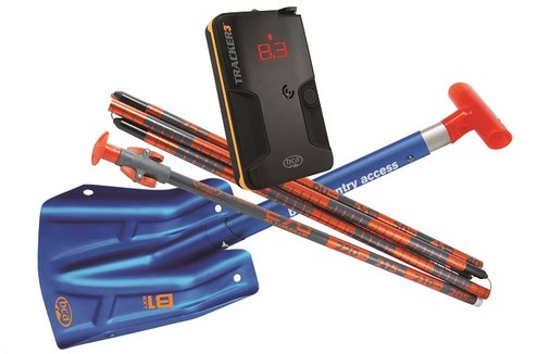 avalanche safety pack rental probe shovel transceiver