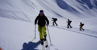 ski touring Alps Guides Agency Courchevel Val thorens Chamonix