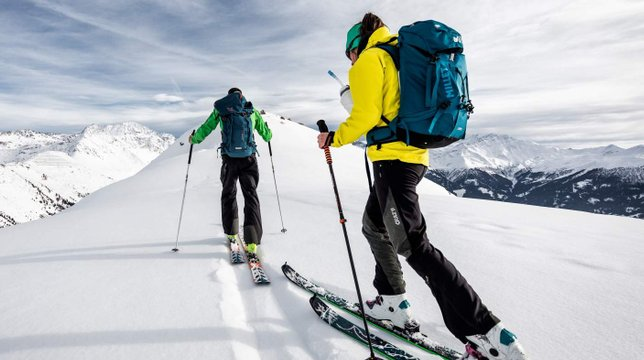 ski touring guide hight mountain
